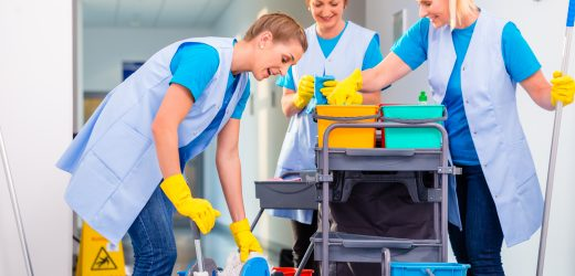 End of tenancy cleaning – not only a quick tidy up, but a bigger cleaning session to do!